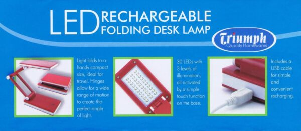 Rechargeable Folding LED Lamp