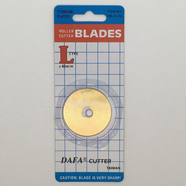 Titanium Nitride 45mm Rotary Blades