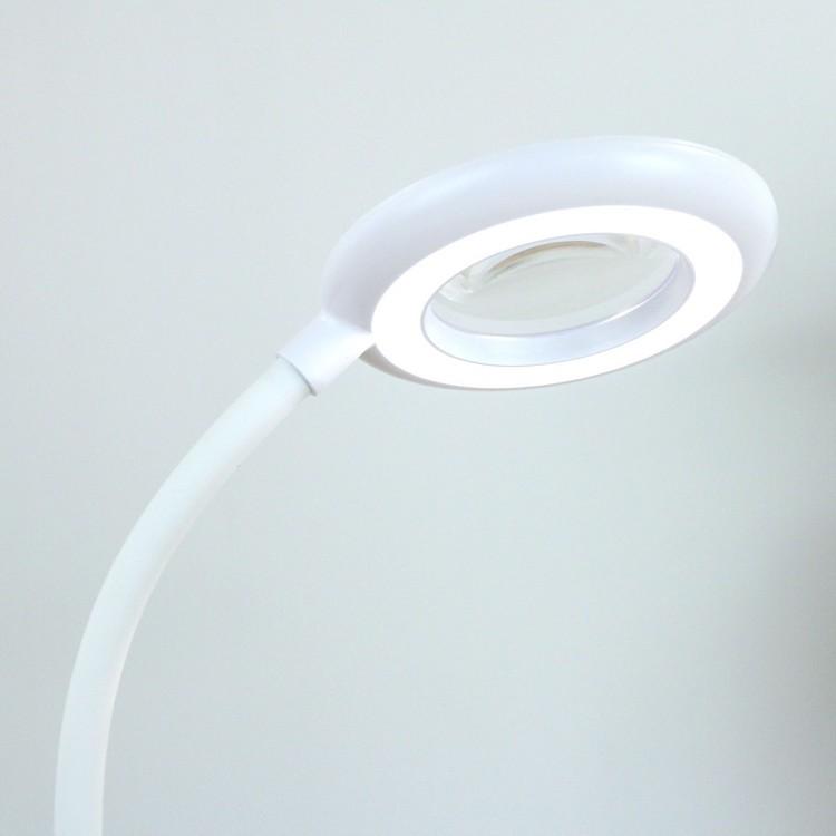 Rechargeable LED Magnifier Desk Lamp