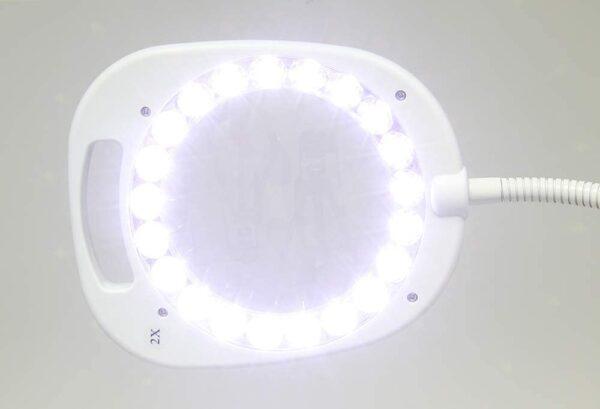 ARCH LED Magnifier Lamp - Floor or Desk - OD109.W